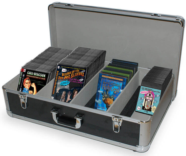 Cd Dvd Blu Ray Storage Sleeves Accessories Dj Cases