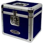 Vinyl LP Storage Case Blue