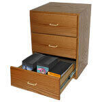 3-Drawer CD SoxChest